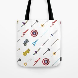Fantasy Weapons Pattern Tote Bag