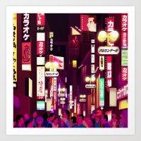 Tokyoscape Art Print