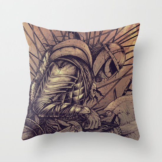 Last Struggle Throw Pillow