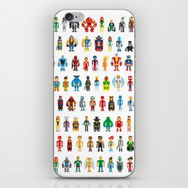 Pixel Heroes iPhone Skin