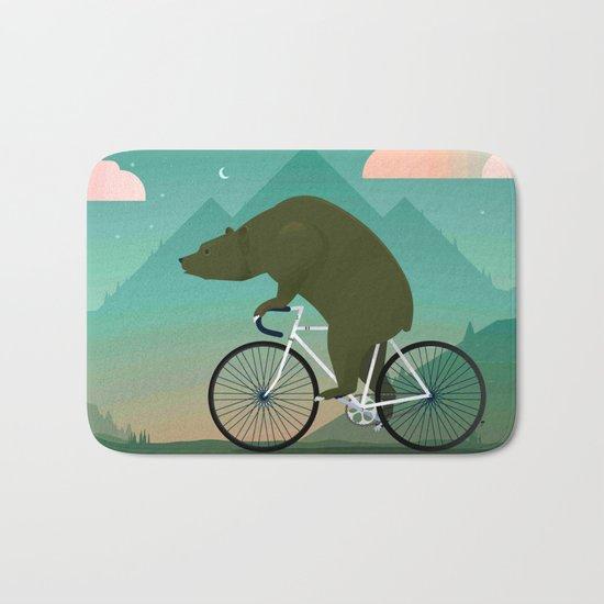 Bear Rider Bath Mat