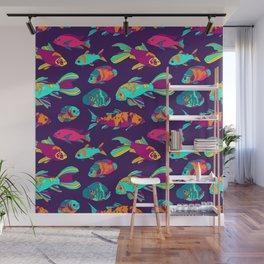 Color Fish Wall Mural
