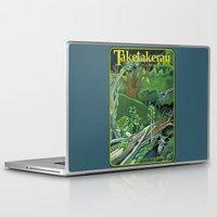 giants Laptop & iPad Skins featuring Fallen Giants by Patricia Howitt