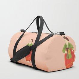 dancing woman Duffle Bag