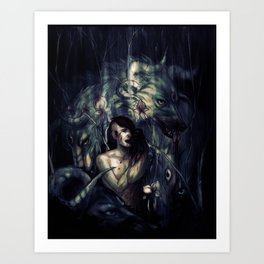 THRENODY Art Print