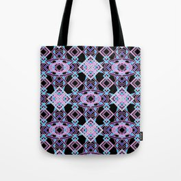 Don't Be Cross- BlackLight Purples Tote Bag