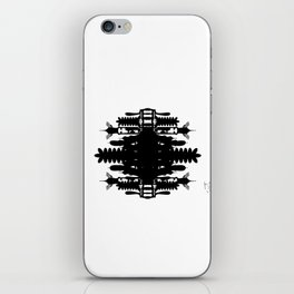 A Template for Your Imagination iPhone Skin