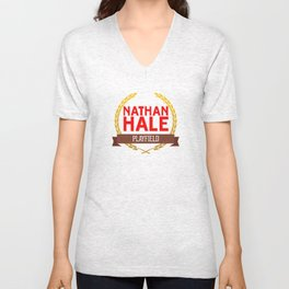Nathan Hale Playfield Unisex V-Neck