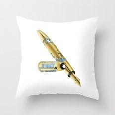 Future Pen Throw Pillow