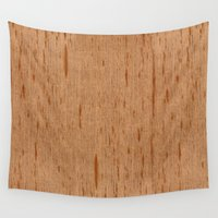 spanish Wall Tapestries featuring Cedar Spanish Wood by Matt Borchert