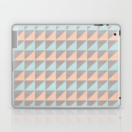 Triangles. Laptop & iPad Skin