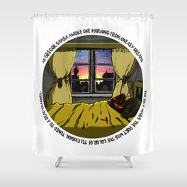 Neuromancer Metamorphosis Shower Curtain