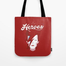 bowie forever red Tote Bag