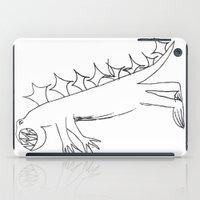 dino iPad Cases featuring Dino by landon zobel