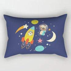 Space Critters Rectangular Pillow
