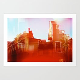 What Happened to New Orleans? Art Print