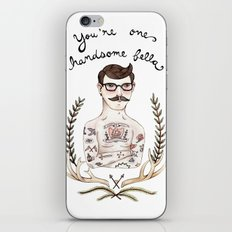Handsome Fellow iPhone & iPod Skin