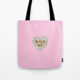Lucent Heart (Kiss Me) Tote Bag