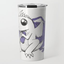 Baby Dragon Hoards Carnival Tickets Travel Mug