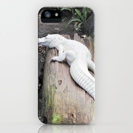 Albino Alligator iPhone Case