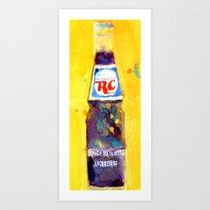 RC Cola - Vintage Art - kitchen art Art Print