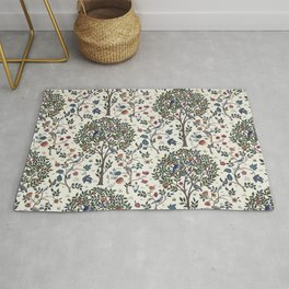 William Morris Trees and Bluebirds  Rug