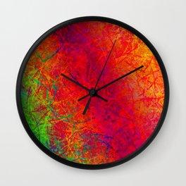 Colors Diversity XII Wall Clock