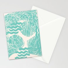 Jungle Green Stationery Cards