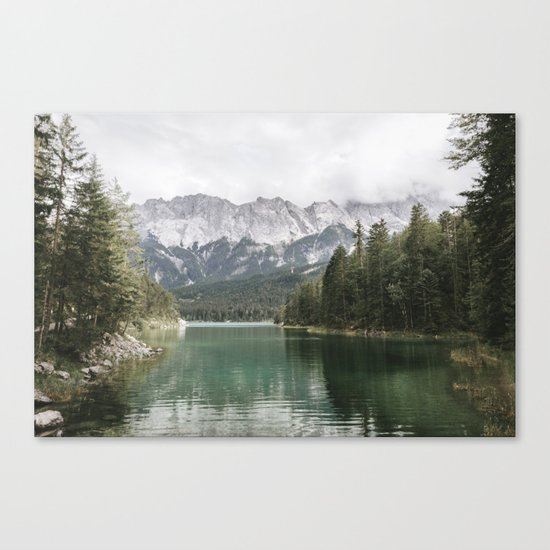 Looks like Canada - landscape photography Canvas Print