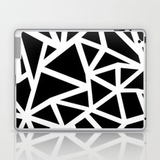 Ab Outline Thicker Black Laptop & iPad Skin