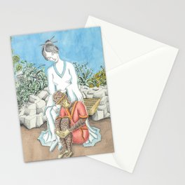 Guanyin and the Monkey King Stationery Cards
