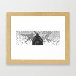 King Olaf and Numinex Framed Art Print