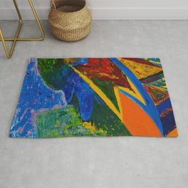 Flight to freedom Rug