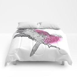 Flaming Galah Comforters