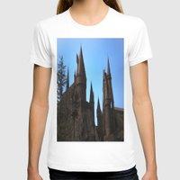 hogwarts T-shirts featuring Hogwarts by Blue Lightning Creative