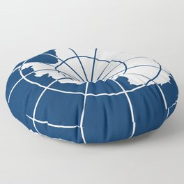 Flag of Antarctica Floor Pillow