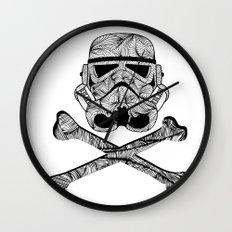 Skulltrooper Wall Clock