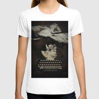 typewriter T-shirts featuring Typewriter by Tom Melsen