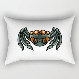 Spider Mascot Sport Gaming Esport Logo Template Streamer Squad Team Club Rectangular Pillow