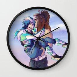 Mink & Aoba Wall Clock
