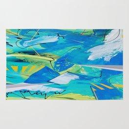 Blue Winds Rug