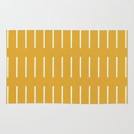 organic / yellow Rug