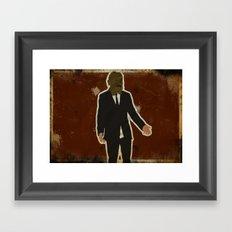 The Dark Knight: Scarecrow Framed Art Print