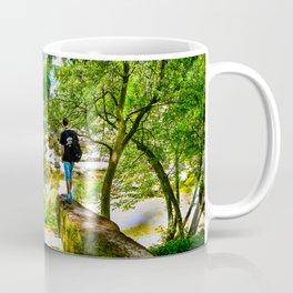Chatsworth House Gardens. Coffee Mug