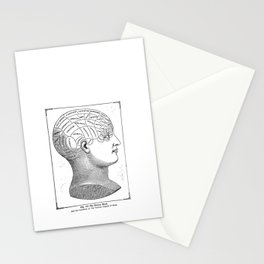 Phrenology2 Stationery Cards