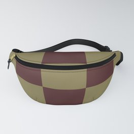 Classic Checked Pattern Longana Fanny Pack