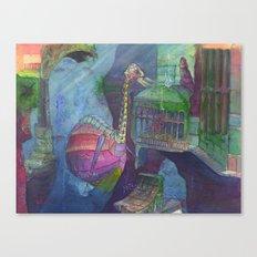 Ostridge Submersible Canvas Print