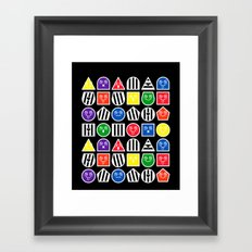 Geometric Fantasy 6 Framed Art Print