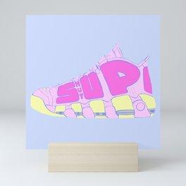SHUT UP Mini Art Print