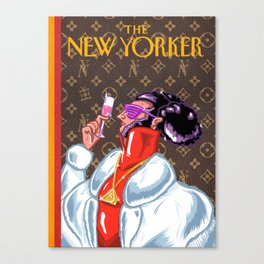 New Yorker Cover: Illuminati  Canvas Print